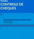 Planilha Controle de Cheques