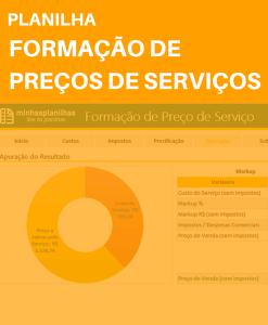 Planilha Formação de Preços de Serviços