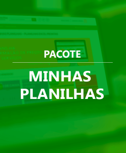 Pacote Excel Planilhas